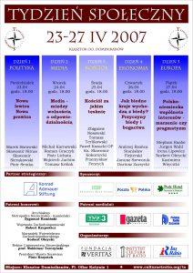 Tydzień Społeczny 2007