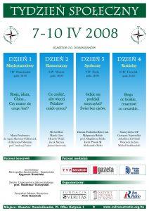 Tydzień Społeczny 2008